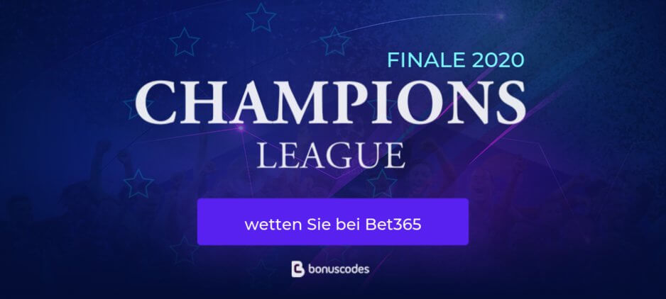 Champions League Finale 2020 wetten