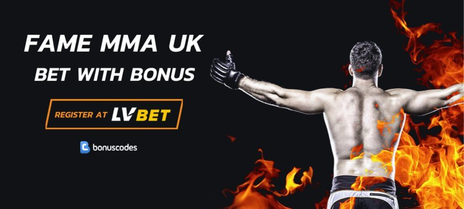 LVBet Bonus Code For Fame MMA UK